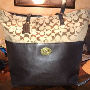Large Coach Tote!